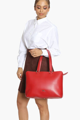 Soft Leather Large Tote Bag