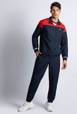 Lettered Colourblock Tennis Tracksuit