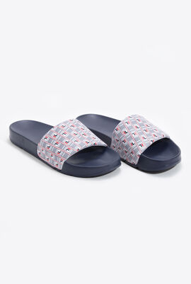 Drifter Haze Navy Slides