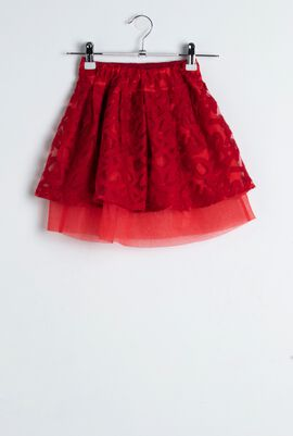 Gonna Rosso Skirt