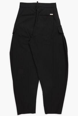 Wide Leg Cargo Trouser