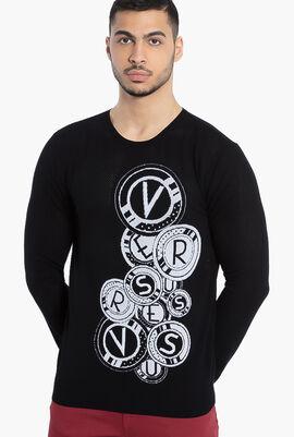 Versus Gianni Printed Sweater
