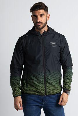 Aston Martin Racing Print Poly Lightweight Jacket