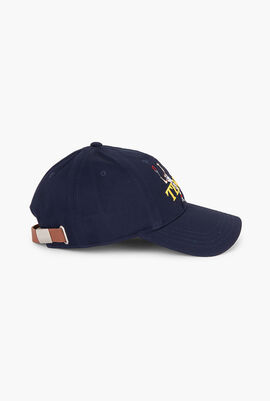 Lacoste L!ve Embroidered Cotton Baseball Cap