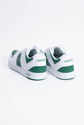 Thrill Two-Tone Leather White/Green Sneakers