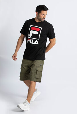 Graphic Solid T-Shirt