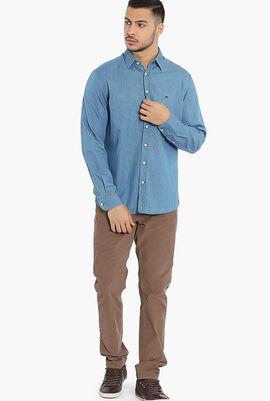 Polka Dot Kensington Slim Fit Shirt