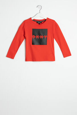 Logo Print Long Sleeves T-Shirt