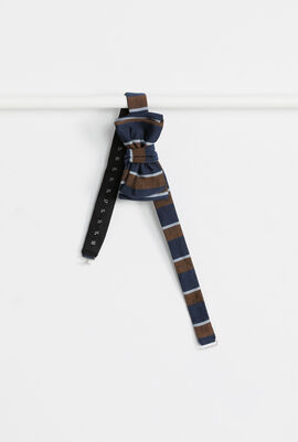 Striped Antique Bow Tie