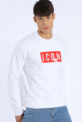 Chest Printed Design Sweatshirt