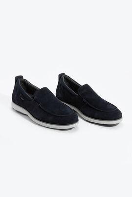 U Nebula F A Navy Slip-on Shoes