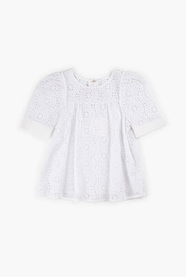 Full Embroidered Lace Blouse
