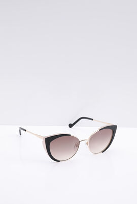 Cat Eye Black Women's Sunglasses