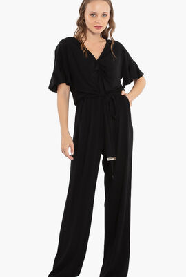 Flutter Short Sleeve Jumpsuit