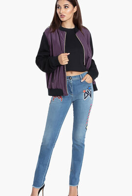 Gianni Rock Patch Jeans