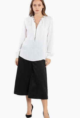 Disjointed Wide Leg Culottes