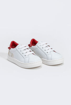 Logo Leather Trainers