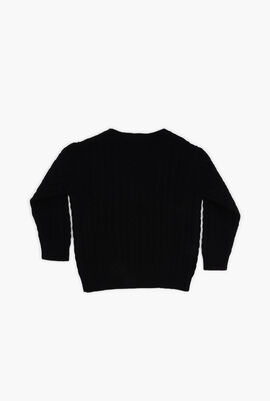 Plain Knitted Sweater