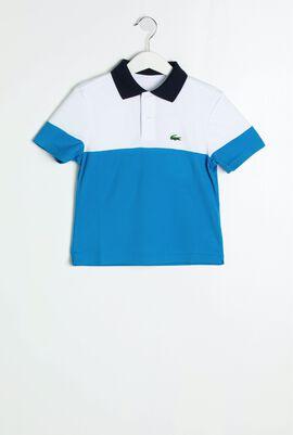 قميص بولو لرياضة التنس بألوان متباينة