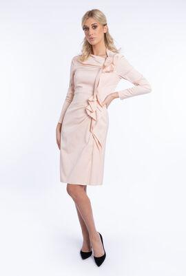 Ruffled Long Sleeves Dress