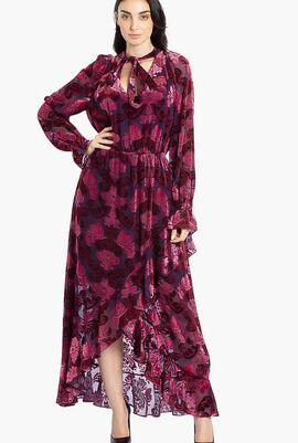 Jacquard Asymmetric Dress