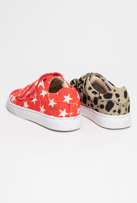 Axel Printed Girls Sneakers