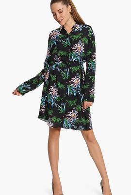 Feminine Shirting Dress