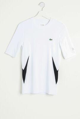 Lacoste SPORT Novak Djokovic Ultra Dry Stretch Jersey T-shirt