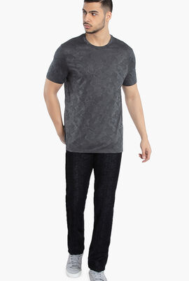 Gianni All Over Print Cotton T-Shirt