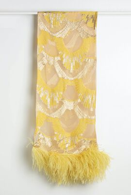 Saliera Stole Square Scarf ( Limited Edition By Fausto Puglisi)