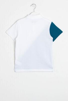 Colourblock Ultra Light Cotton Tennis Polo Shirt