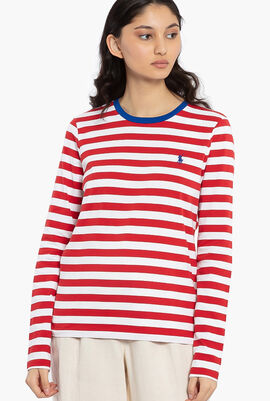 Stripes Long Sleeves T-Shirt