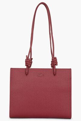 Chantaco Leather Shoulder Slung Handbag