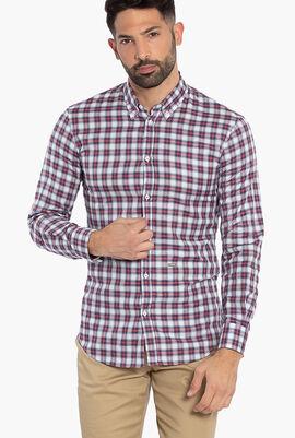 Long Sleeves Checkered Shirt