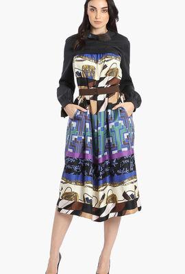 Teca Printed Dress
