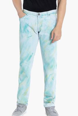 Versace Jeans Multi-Colored Slim Fit Pants