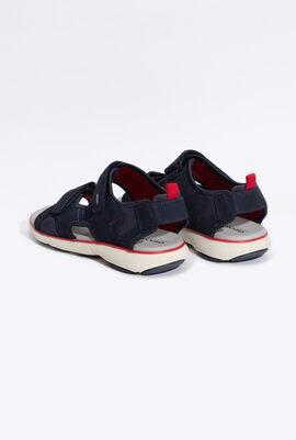 Nebula Suede Sandals