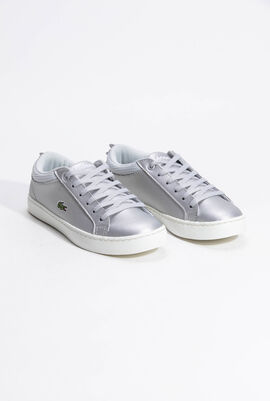 Straightset Metallic Lace-Up Sneakers