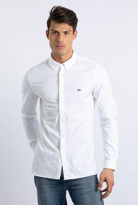قميص من قطن أكسفورد المرن بقَصَّة ضيقة