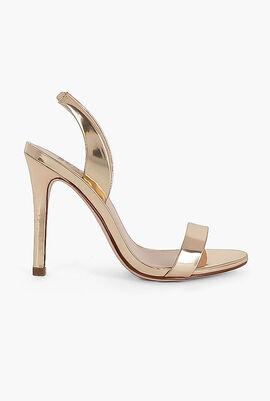 Luriane High Heeled Metallic Sandal
