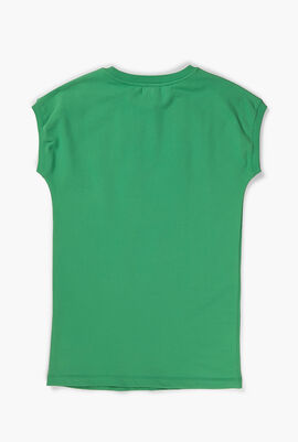 Printed Maxi Sweatshirt
