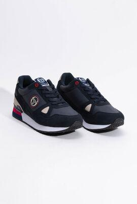 Wider Road Navy Sneakers