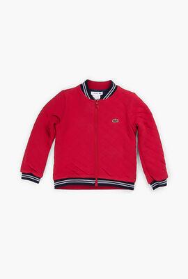 Quilted Reversible Teddy Sweatshirt
