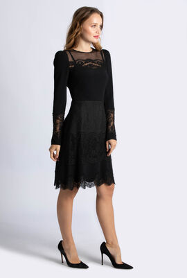 Lace Mid Dress