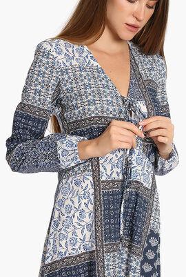 Ischia Cotton Maxi Dress