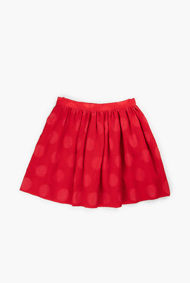 Waist Pleated Skirt