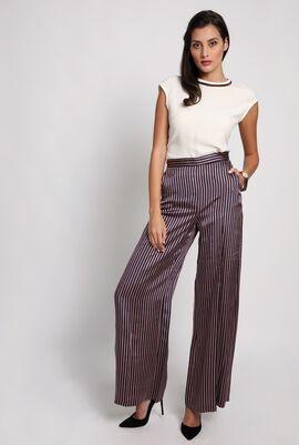 Carini Stripes Wide Leg Trouser