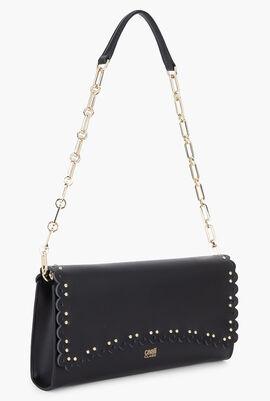 Doris Leather Clutch