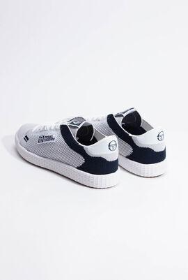 Gran Mac Knit White/Navy Sneakers