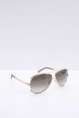 Classic Aviator Grey Women's Sunglasses